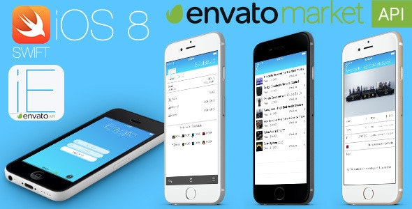 iEnvato - iOS8 Swift Project - Universal Build - CodeCanyon Item for Sale