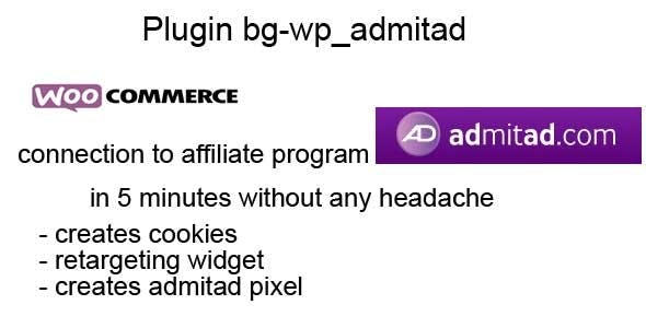Woocommerce connection to Admitad