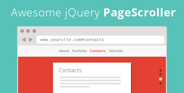Awesome jQuery PageScroller - CodeCanyon Item for Sale
