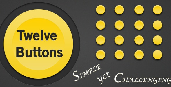 Twelve Buttons Android Game - CodeCanyon Item for Sale