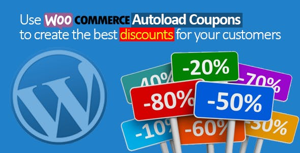Woocommerce Autoload Coupons