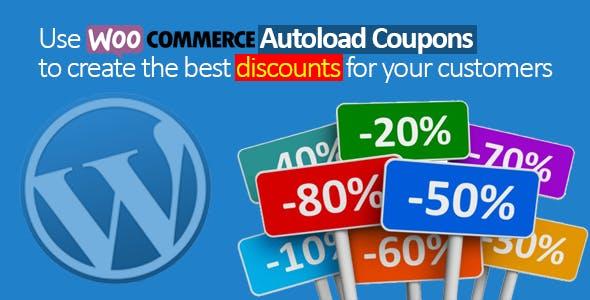 Woocommerce Autoload Coupons