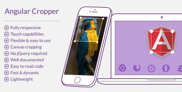 Angular Cropper by BitsetPixels | CodeCanyon
