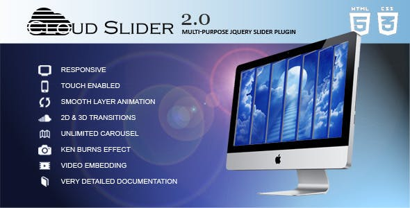 Cloud Slider - Responsive jQuery Slider Plugin