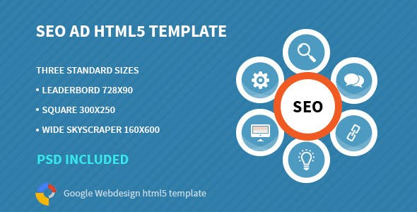 SEO | HTML 5 Animated Google Banner