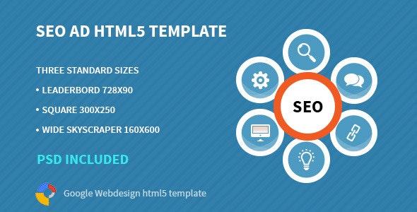 SEO | HTML 5 Animated Google Banner - CodeCanyon Item for Sale