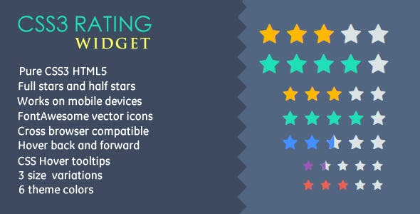 CSS3 Rating Widget