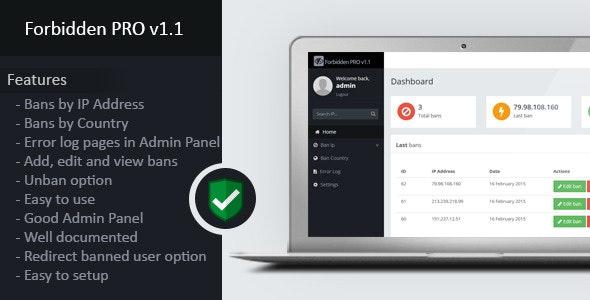 Forbidden PRO v1.1 - CodeCanyon Item for Sale