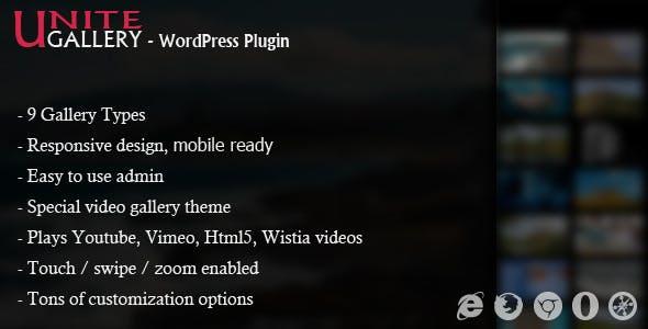 Unite Gallery - Wordpress Gallery Plugin