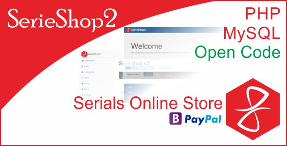 SerieShop - Simple Serials, Coupon, Vouchers Store - CodeCanyon Item for Sale