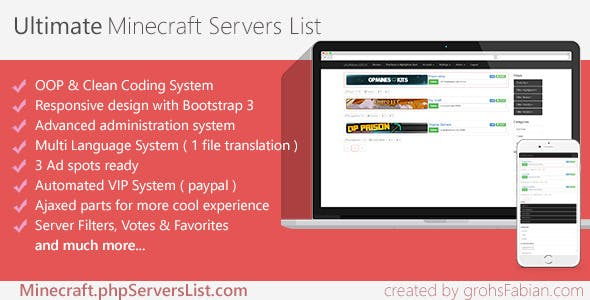 Minecraft Plugins, Code & Scripts from CodeCanyon