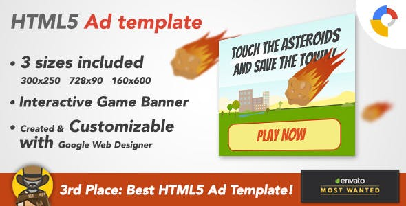 Ad HTML5 Template | Online Games