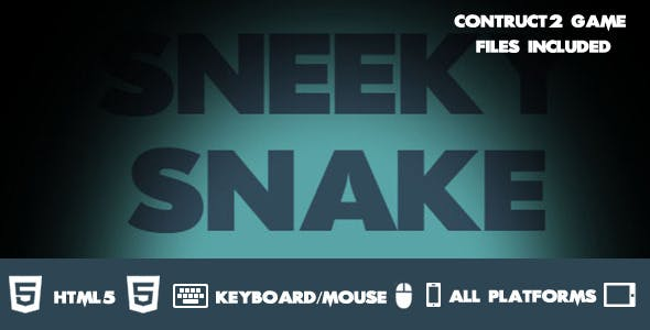 Sneaky Snake Construct 2 HTML 5 Game