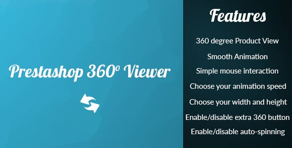 Prestashop 360° Product Viewer