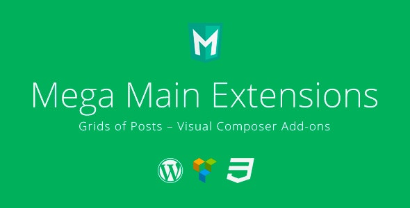 Grids of Posts - Visual Composer Addons - CodeCanyon Item for Sale