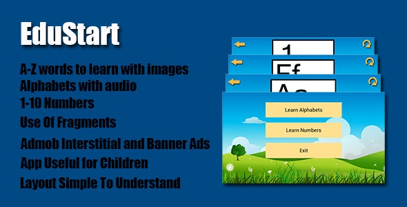 EduStart Android App With Admob - CodeCanyon Item for Sale