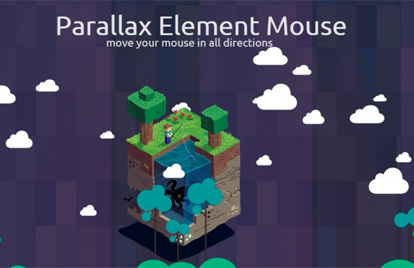 Mouse Parallax Element - CodeCanyon Item for Sale