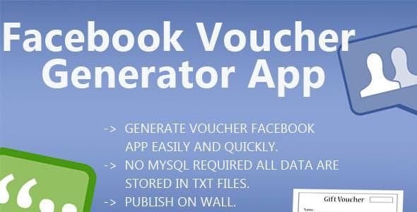 Facebook Voucher Generator App