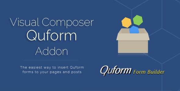 Visual Composer Quform Add-on  - CodeCanyon Item for Sale