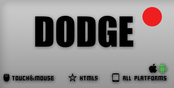 DODGE-HTML5 GAME - CodeCanyon Item for Sale