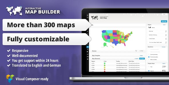 Interactive Map Builder for WordPress        Nulled
