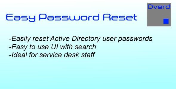 Easy Password Reset