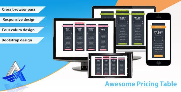 Awesome Pricing Table - CodeCanyon Item for Sale