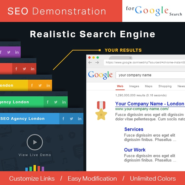 Realistic Search Engine - CodeCanyon Item for Sale