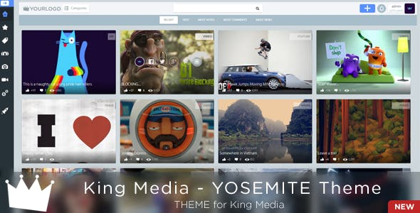 King MEDIA - Yosemite Theme