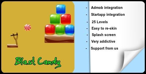 Blast Candy + Admob + Startapp - CodeCanyon Item for Sale