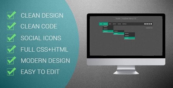 PickArt - Modern DropDown Menu v1.0 - CodeCanyon Item for Sale