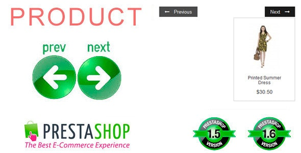 Prestashop Module Navigation Previous and Next Category Product - CodeCanyon Item for Sale