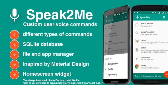 Speak2Me - Voice Assistant - CodeCanyon Item for Sale
