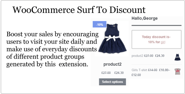 WooCommerce Surf To Discount