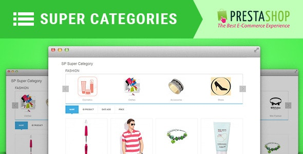 SP Super Category - Responsive Prestashop 1.6 and 1.7 Module - CodeCanyon Item for Sale