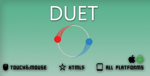 DUET-HTML5 GAME - CodeCanyon Item for Sale