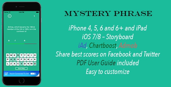 Mystery Phrase - CodeCanyon Item for Sale