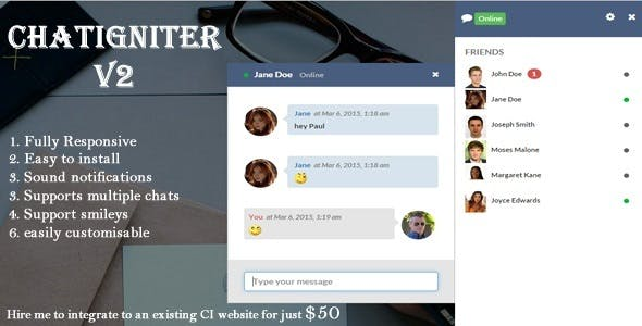 Chatigniter live chat app