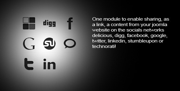 Social Buttons  - CodeCanyon Item for Sale