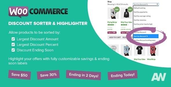 WooCommerce Discount Sorter & Highlighter
