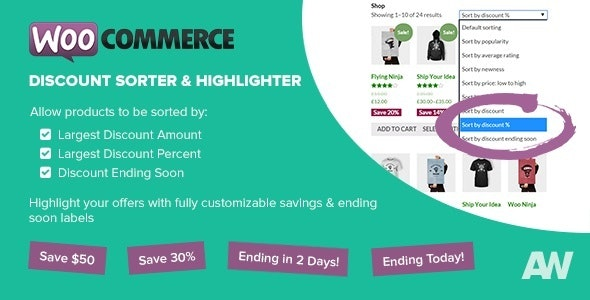 WooCommerce Discount Sorter & Highlighter  - CodeCanyon Item for Sale