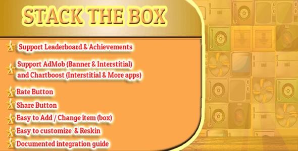 Stack The Box Corona SDK