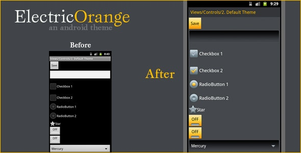 Electric Orange - CodeCanyon Item for Sale
