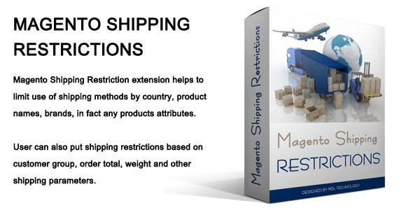Magento Shipping Restriction - CodeCanyon Item for Sale