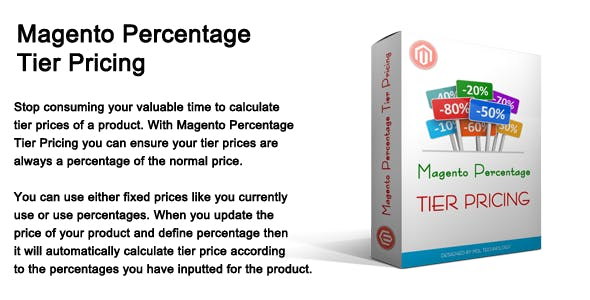 Magento Percentage Tier Pricing