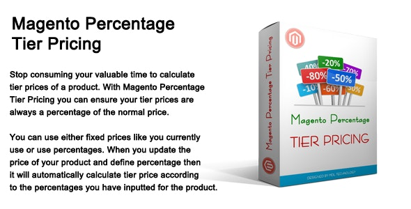 Magento Percentage Tier Pricing - CodeCanyon Item for Sale