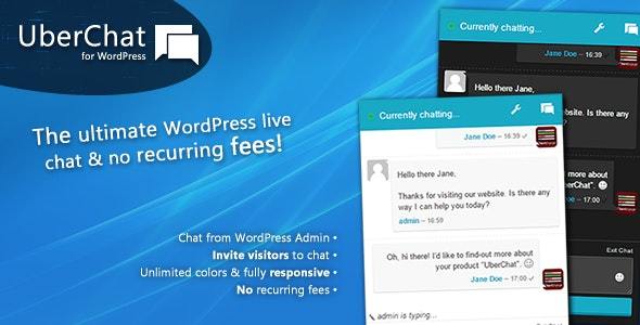 Uber Chat - The Ultimate Live Chat for WordPress - CodeCanyon Item for Sale