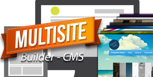 MultiSite Builder CMS