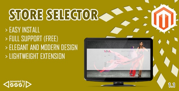 Store Selector Magento Extension - CodeCanyon Item for Sale