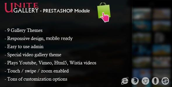 Unite Gallery - Prestashop Module